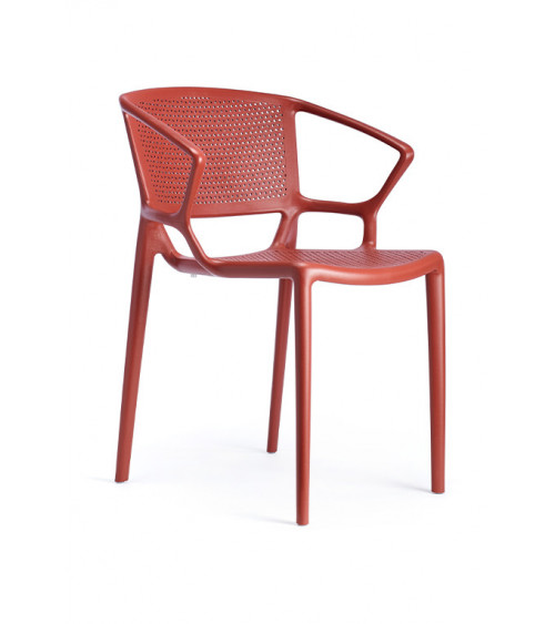 Fiorellina Perforated Seat and Back with Arms